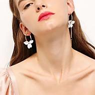 levne -Dámské Neshoda Visací náušnice Pryskyřice Náušnice stylové Šperky Zlatá Pro Denní 1 Pair