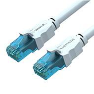 abordables -VENTION RJ45 Cable, RJ45 a RJ45 Cable Macho - Macho Cobre dorado 1,0 m (3 pies) 100 Mbps