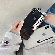 halpa -Etui Käyttötarkoitus Apple iPhone XR / iPhone XS Max Läpinäkyvä / Kuvio Takakuori Sana / lause / Läpinäkyvä Pehmeä TPU varten iPhone XS / iPhone XR / iPhone XS Max