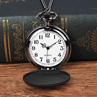 Χαμηλού Κόστους -Ανδρικά Ρολόι Τσέπης Χαλαζίας Μαύρο Καθημερινό Ρολόι Μεγάλο καντράν Αναλογικό Καθημερινό - Μαύρο