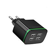 Prenosivi punjač USB punjač EU utikač Multi-izlaz 4 USB portova 2.1 A 100~240 V za Univerzális