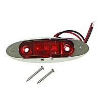 billiga -SENCART Motorcykel / Bilar Glödlampor 3 W Integrerad LED 60 lm 3 LED Varselljus / Sidomarkeringsljus / Dekorationsljus Till Universell / motorcyklar Alla år