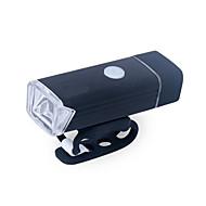 billige -LED Cykellys Forlygte til cykel XP-G2 Bjerg Cykling Cykling Vandtæt Bærbar Nem at montere Li-polymer USB 380 lm Genopladeligt Batteri Hvid Camping / Vandring / Grotte Udforskning Cykling