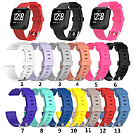 cheap -Watch Band for Fitbit Versa / Fitbit Versa Lite Fitbit Sport Band Silicone Wrist Strap