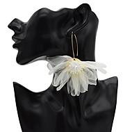 preiswerte -Damen Tropfen-Ohrringe Ohrringe Schmuck Weiß / Purpur Für Karnival 1 Paar