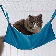 זול -חתולים מיטות חיות מחמד שמיכות אחיד נייד חם רך כחול ורוד עבור חיות מחמד