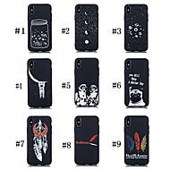 abordables -Coque Pour Apple iPhone XR / iPhone XS Max Dépoli / Motif Coque Chien / Mot / Phrase / Ciel Flexible TPU pour iPhone XS / iPhone XR / iPhone XS Max