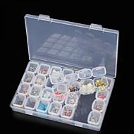 ราคาถูก -กล่องเก็บรักษา มัลติ-ฟังก์ชั่น / ทนทาน พลาสติก 17.5*11*2.7 cm ซม.