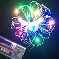 billige -3M Lysslynger 30 LED Multifarget Dekorativ AA batterier drevet 1set