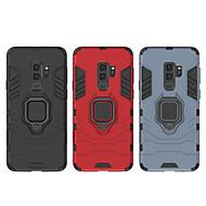 tanie -Kılıf Na Samsung Galaxy S9 / Galaxy S10 Plus Odporny na wstrząsy / Uchwyt pierścieniowy Osłona tylna Zbroja Twardość PC na S9 / S9 Plus / S8 Plus
