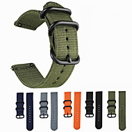 billige -Klokkerem til LG G Watch W100 / LG G Watch R W110 / LG Watch Urbane W150 LG Sportsrem Stoff / Nylon Håndleddsrem