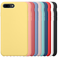 economico -custodia per apple iphone 6 / iphone 6 plus iphone 6s iphone7 iphone8 iphone7plusiphone8plus iphone x / xs / xsmas cover posteriore antiurto tinta unita rigido pc / gel di silice per