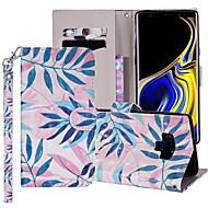 preiswerte -Hülle Für Samsung Galaxy Note 9 Geldbeutel / Kreditkartenfächer / mit Halterung Ganzkörper-Gehäuse Baum Hart PU-Leder für Note 9