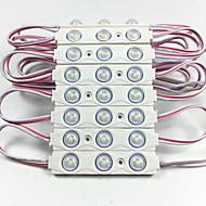 billige -1set 2 W 6000 lm 60 LED perler Panellys Hvit Rød Blå 12 V
