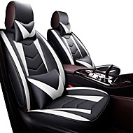 tanie -pięć siedzeń / ogólne silniki pokrowiec na siedzisko / poduszka samochodowa uniwersalny zestaw czterech sezonów siedzisko ze skóry specjalnej toyota