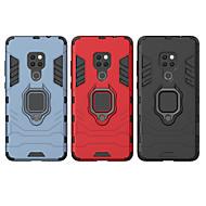 tanie -Kılıf Na Huawei Huawei P30 / Huawei Mate 20X Odporny na wstrząsy / Uchwyt pierścieniowy Osłona tylna Zbroja Twardość PC na Huawei P20 / Huawei P20 Pro / Huawei P20 Lite