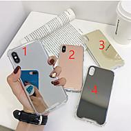 kotelo omena iPhone xr / iphone xs max peili takakansi kiinteä värillinen pehmeä karkaistu lasi iPhone x xs 8 8plus 7 7plus 6 6plus 6s 6s plus