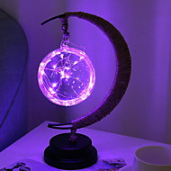 Χαμηλού Κόστους -1set LED νύχτα φως Μωβ Μπαταρίες AA Powered Δημιουργικό