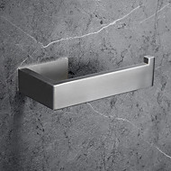 cheap -Toilet Paper Holder New Design / Self-adhesive / Creative Contemporary / Modern Stainless steel / Stainless Steel / Iron / Metal 1pc - Bathroom Wall Mounted