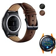 billige -Klokkerem til Huawei Watch 2 Huawei Sportsrem Ekte lær Håndleddsrem