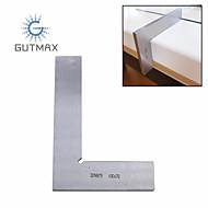 お買い得  -90度角度定規ステンレス鋼スクエア定規ゲージ測定ツール1ピースhy67