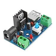 7-15v 9v 12v tot 5v 2a l7805 buck converter voedingsmodule met schakelaar