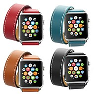 voordelige -hermes double-lap band voor apple watch-serie smart watch serie 4/3/2/1 polsriem