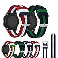 billige -nylon vevd canvas watch bandstropp armbånd for garmin forerunner 645 / forerunner 245m / vivoactive 3 / vivomove hr / vivomove smart klokke