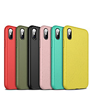 cheap -Case For Apple iPhone 8 / iPhone XS Max Shockproof Back Cover Solid Colored Soft Silicone for iPhone XS / iPhone XR / iPhone XS Max