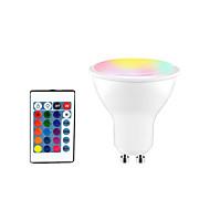 billige -1pc 5 W Smart LED-lampe 350 lm GU10 E26 / E27 3 LED perler SMD 5050 Smart Mulighet for demping Fest RGBW 85-265 V
