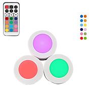 billige -3pcs ledet natt lys farge skiftende aaa batterier drevet