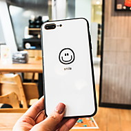 cheap -Case For Apple iPhone XS Max / iPhone 6 Mirror / Pattern Back Cover Cartoon Hard Tempered Glass for iPhone XS / iPhone XR / iPhone XS Max