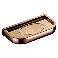 cheap -Rose gold Soap Dishes & Holders New Design Modern / Contemporary Brass 1pc - Bathroom / Hotel bath Wall Mounted