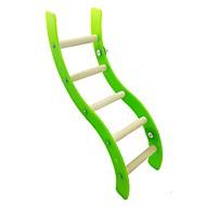 abordables -Pájaro Perchas y Escaleras Madera Amigable con las Mascotas / Juguete del foco / Juguetes de felpa y tela 36.5 cm