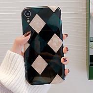 povoljno -CISIC Θήκη Za Apple iPhone XR / iPhone XS Max Otporno na trešnju / Protiv prašine / Vodootpornost Stražnja maska Geometrijski uzorak Mekano TPU za iPhone XS / iPhone XR / iPhone XS Max