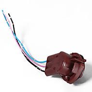 olcso -2db 3157b t25 izzó aljzatok adapter elővezetékes csatlakozó vezetékköteg adapterkábel