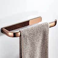 cheap -Rose Gold Towel Bar New Design Modern / Contemporary Brass 1pc - Bathroom / Hotel bath Wall Mounted