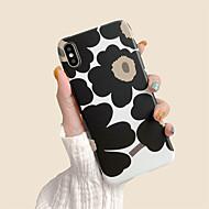 abordables -estuche para apple iphone 7 / iphone 8 patrón contraportada suave flor tpu para iphone 7 / iphone 8