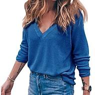 billige -T-skjorte Dame - Ensfarget Rosa US2 / UK6 / EU34