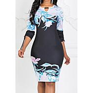 povoljno -ženska haljina dojase do koljena crna s m l xl