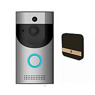 baratos -smart wi-fi campainha sem fio ir 720p video camera intercom gravação homesecurityeu casa inteligente