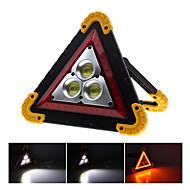 baratos -2pcs 50w cob brilho luz de inundação carro portátil triângulo luz de advertência luz de inundação de carregamento usb
