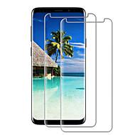 povoljno -Screen Protector za Samsung S9 / S9 Plus / S8 Plus Kaljeno staklo 2 kom Prednja zaštitna folija Visoka rezolucija (HD) / 9H tvrdoća / 2.5D zaobljeni rubovi
