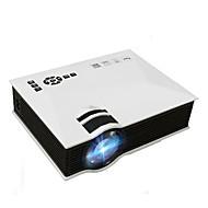 お買い得  -プロジェクターuc46プラス800×480 1200ルーメンビデオプロジェクターホームシネマwifiサポートミラキャスト/エアプレイフルhd proyector