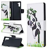 povoljno -Θήκη Za Samsung Galaxy Note 9 / Note 8 / Galaxy Note 10 Novčanik / Utor za kartice / Otporno na trešnju Korice Panda PU koža