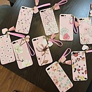povoljno -Θήκη Za Apple iPhone XS / iPhone XR / iPhone XS Max Ultra tanko / Uzorak Stražnja maska Crtani film / Cvijet silika gel