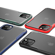 ieftine -Maska Pentru Apple iPhone 11 / iPhone 11 Pro / iPhone 11 Pro Max Anti Șoc / Translucid Capac Spate Mată TPU / PC
