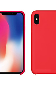 cheap -Case For Apple iPhone XS / iPhone XS Max Ultra-thin / Frosted Back Cover Solid Colored Soft TPU for iPhone XS / iPhone XR / iPhone XS Max