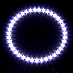 Car Headlight / Decorative Light (Angel Eye Light, 39 LED, 12cm, White)