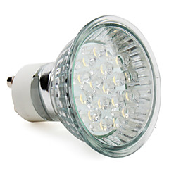 preiswerte LED-Birnen-1.5 W 60-80 lm GU10 LED Spot Lampen MR16 18 LED-Perlen Hochleistungs - LED Warmes Weiß 220-240 V
